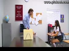 Scarlet banks fucks her teacher